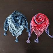 Sjaals voor de meisjes