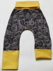 legging beer geel