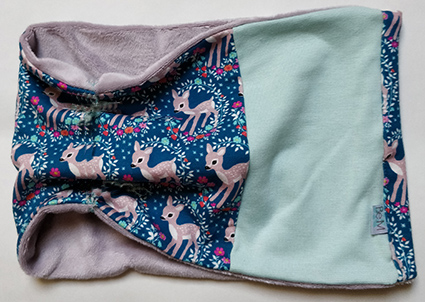 neckwarmer bambi grey